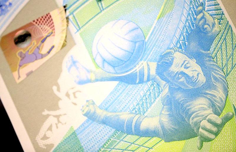 Дизайн банкноты 100 рублей ФИФА (FIFA) 2018
